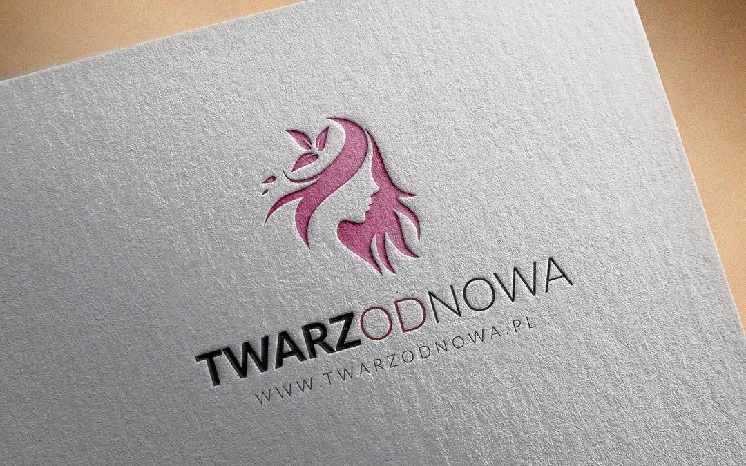 Logotyp dla firmy TWARZODNOWA