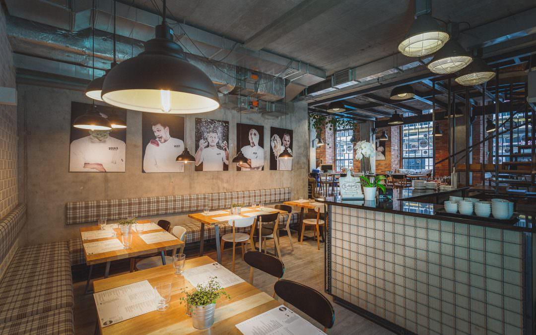 Wnętrza restauracji BOSKA! Praga