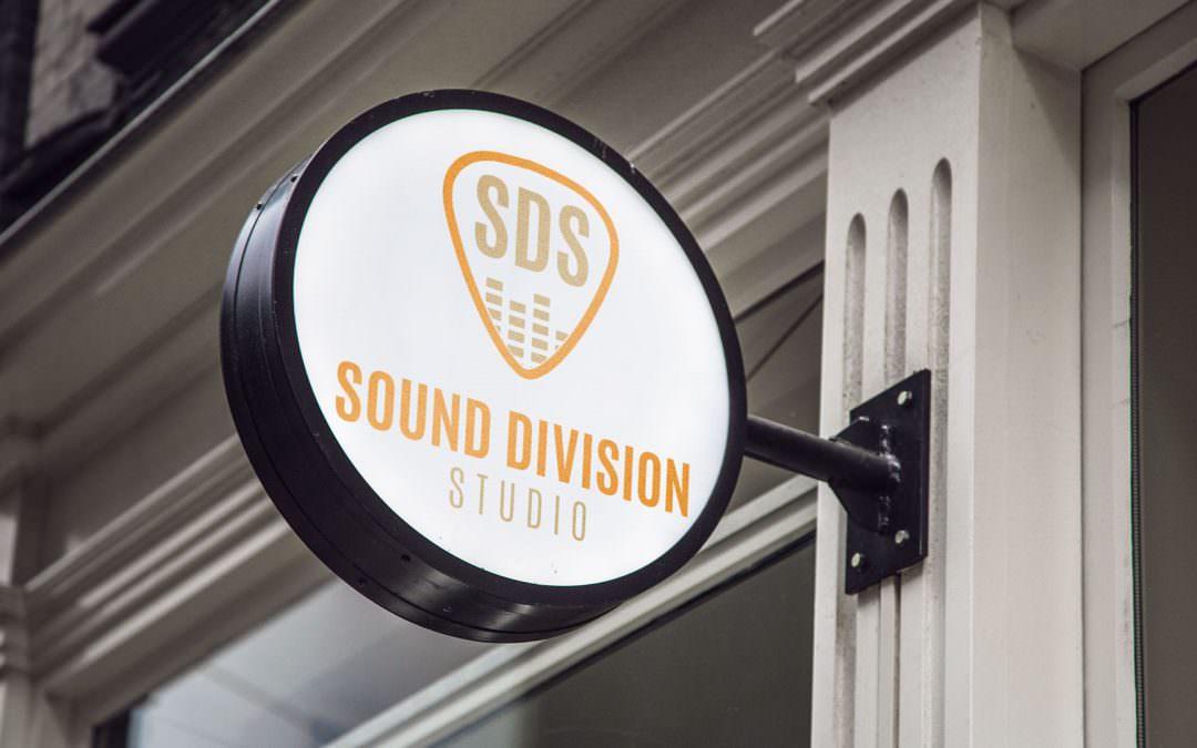 Design Logo dla Sound Division Studio