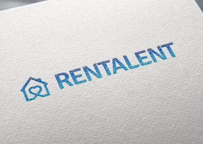 Projekt logo dla Rentalent.pl