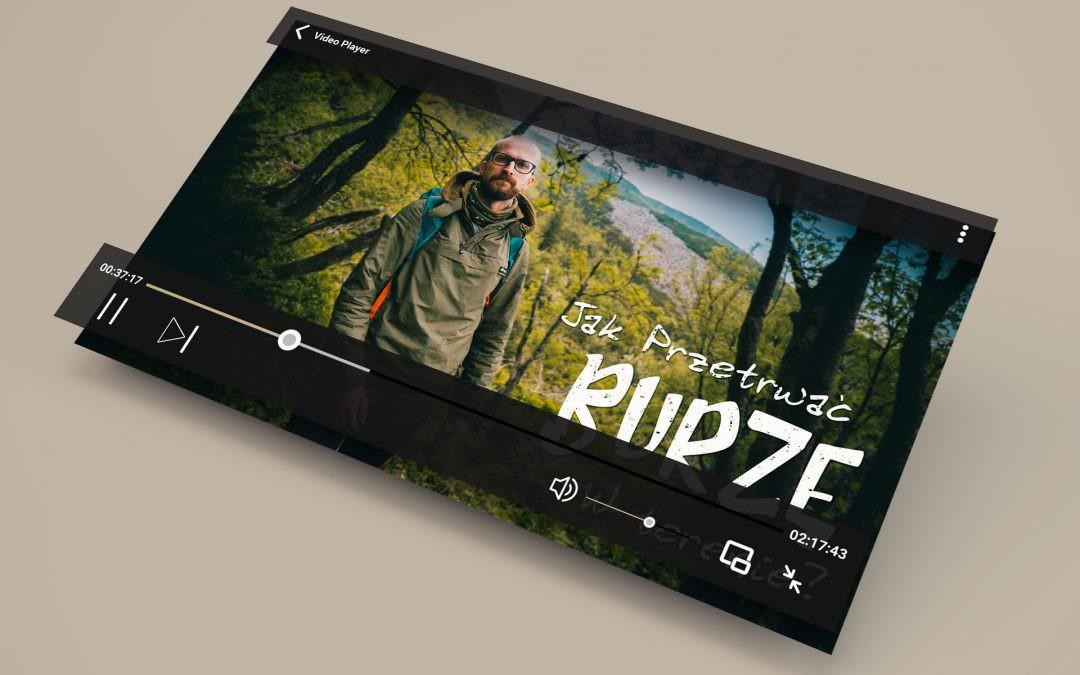 Realizacja filmu na YT dla Bushcraftowy.pl