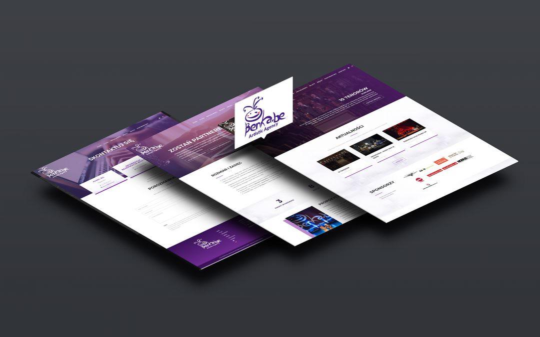 Nowa strona internetowa Benka.be